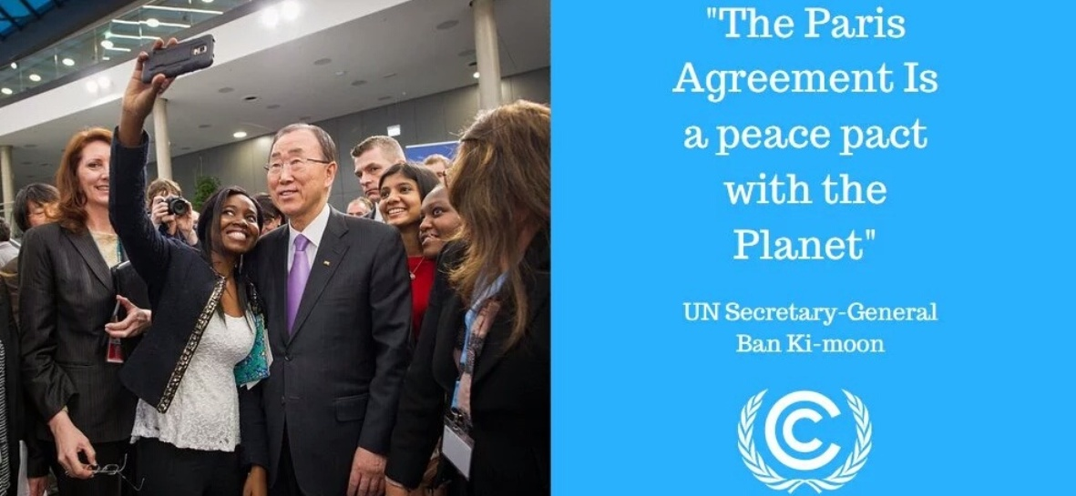 Paris Agreement - Ban Ki Moon