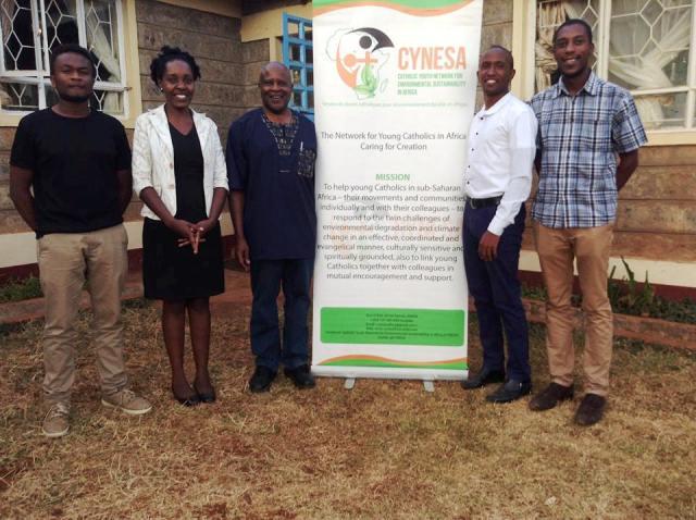 Fr Katongole Visits CYNESA Secretariat