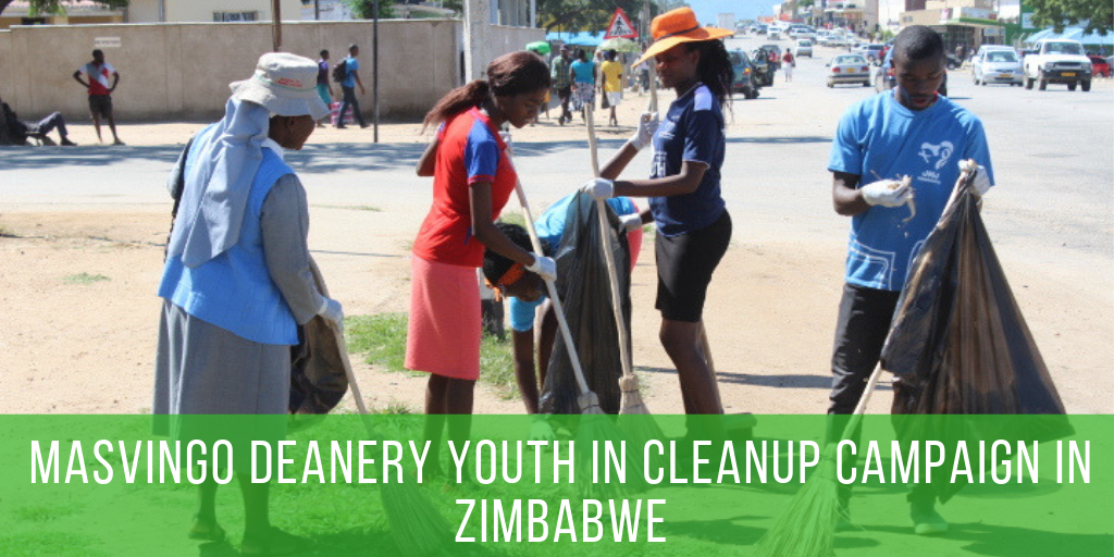 Masvingo Deanery Youth in Cleanup Campaign (1)