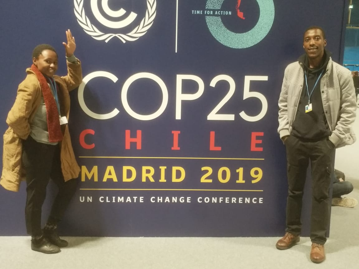 CYNESA Rwanda Delegate Experience from COP25 Chile Madrid 2