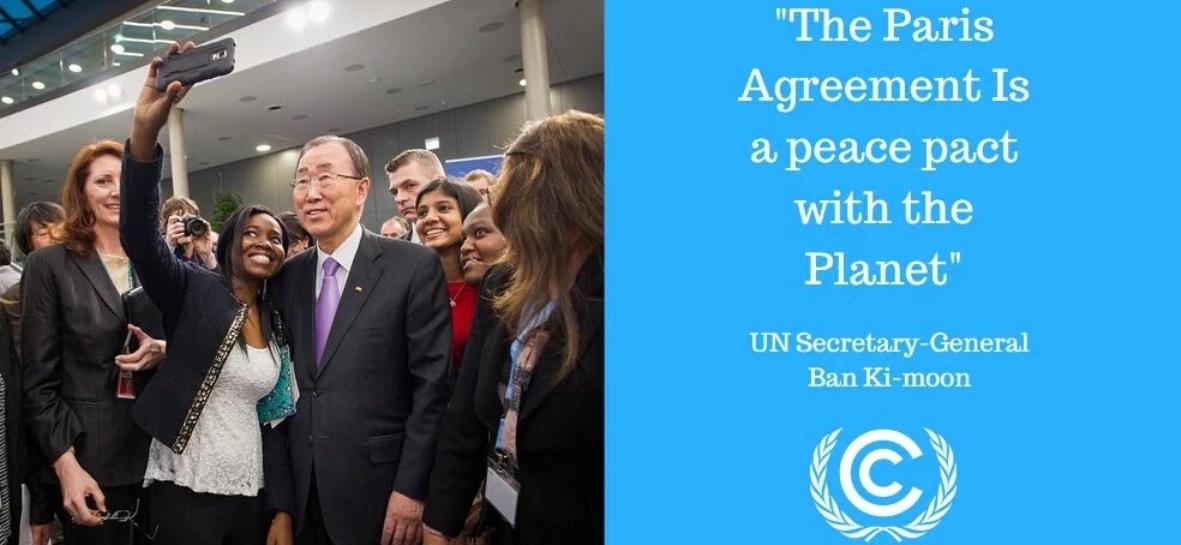 Paris Agreement - Ban Ki Moon