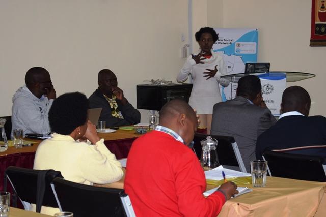 JASCNET Training of Trainers Nairobi - Hellen Wangechi Mugo