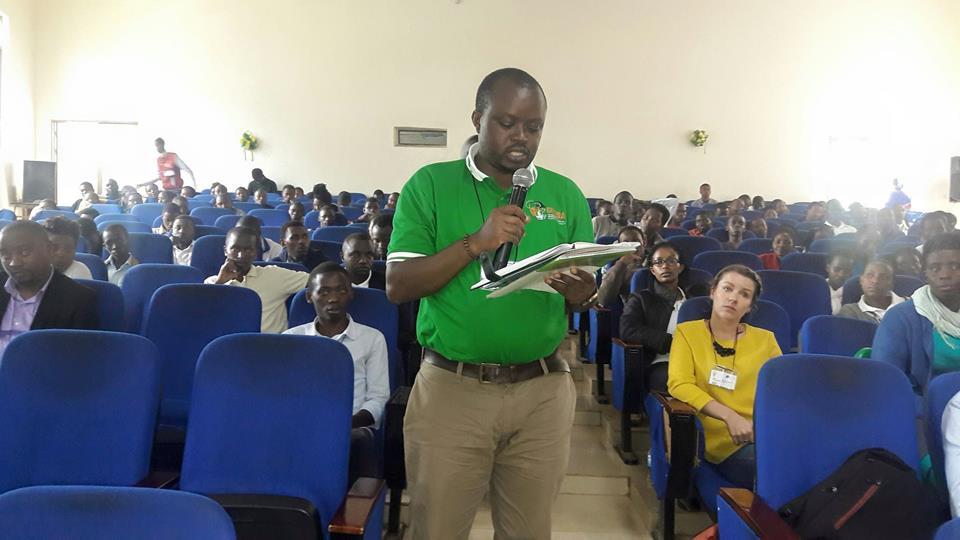 Benoit - CYNESA Rwanda World Water Day