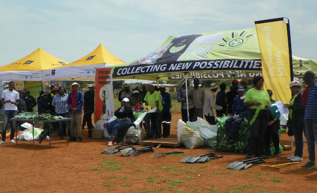 Global recycling day Joburg with CYNESA