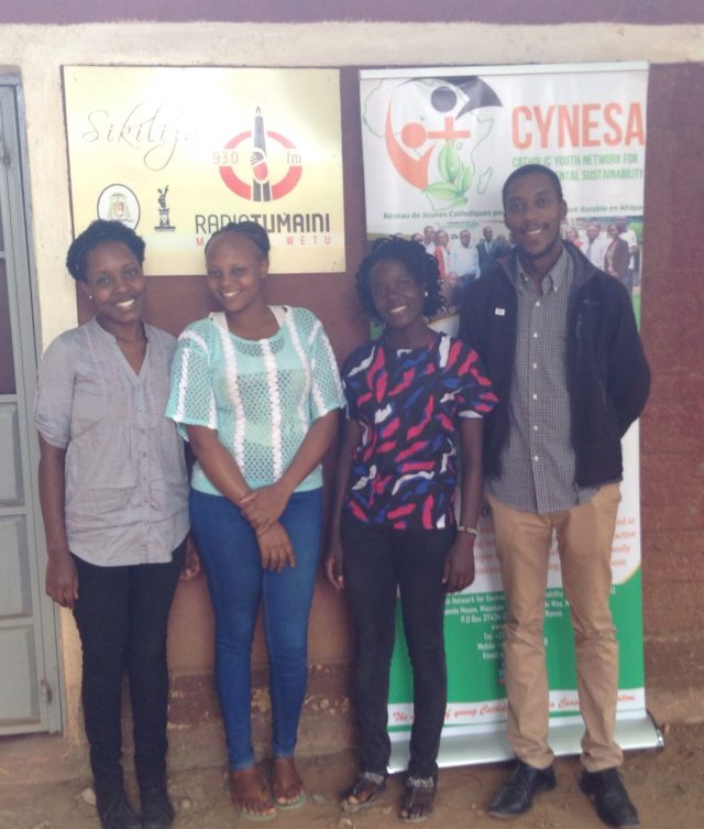 Laudato Si and Wildlife Conservation Interview at Radio Tumaini